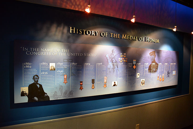 Medal of Honor Museum at Patriot's Point in Mt. Pleasant, SC