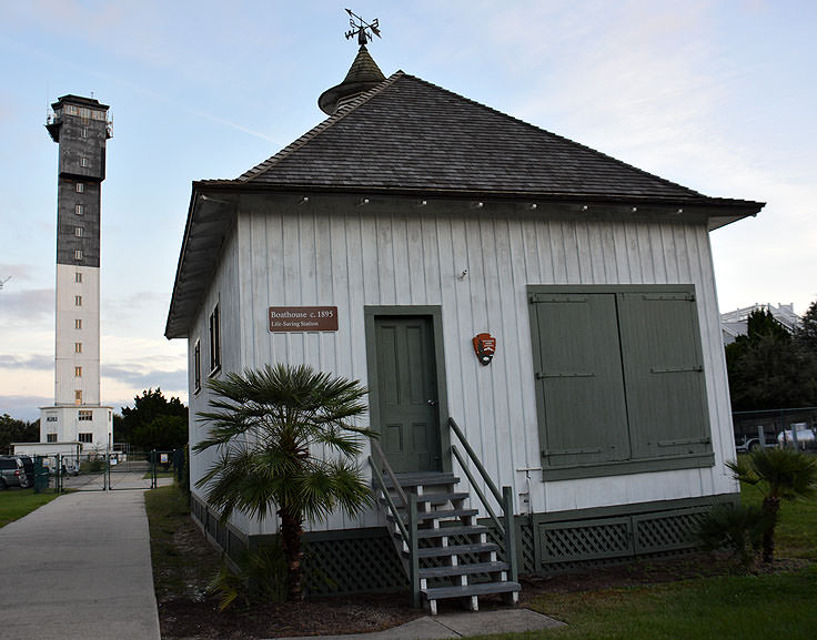 USCG Historic Distric buildings at Sullivan's Island Lighthouse
